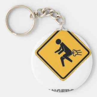 funny traffic sign key chains
