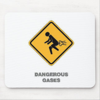 funny traffic sign mouse pad