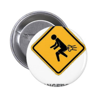 funny traffic sign pinback buttons