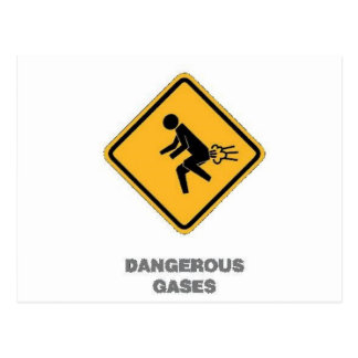 funny traffic sign postcard