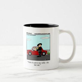 Funny Traffic Ticket Humor Mug Gift