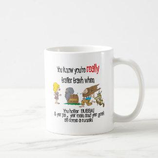Funny Trailer Park Shirt Classic White Coffee Mug