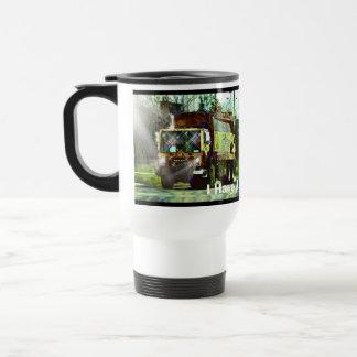 Funny Trash Truck-Driver's Travel Mug
