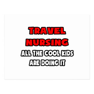 Funny Travel Nurse Shirts and Gifts Postcard