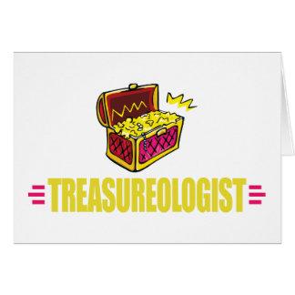 Funny Treasure Hunting Card