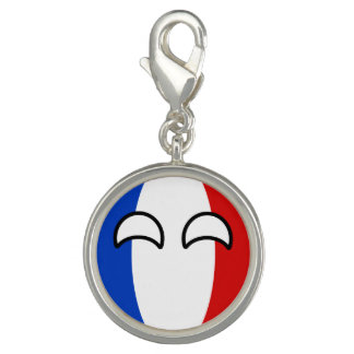 Funny Trending Geeky France Countryball Photo Charm