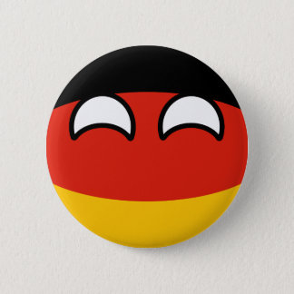 Funny Trending Geeky Germany Countryball Button