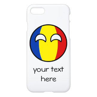 Funny Trending Geeky Romania Countryball iPhone 8/7 Case