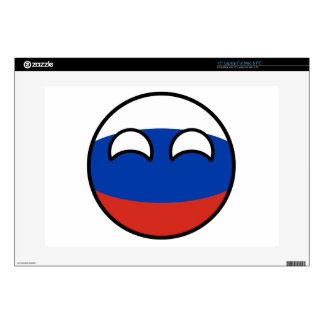 Funny Trending Geeky Russia Countryball Laptop Decal
