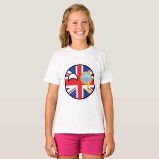 Funny Trending Geeky United Kingdom Countryball T-Shirt