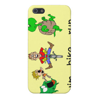 Funny triathlon case for iPhone SE/5/5s