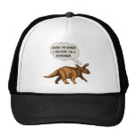 Funny Triceratops Dinosaur Trucker Hat