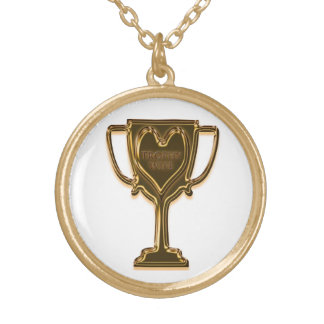 Funny Trophy Wife Necklace
