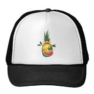 Funny tropic exotic fellow trucker hat
