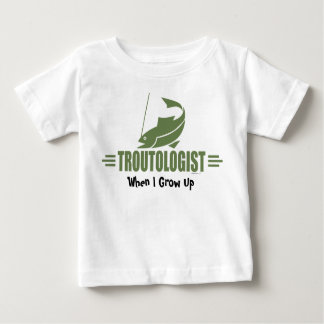 Funny Trout Fishing Infant T-shirt