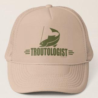 Funny Trout Fishing Trucker Hat