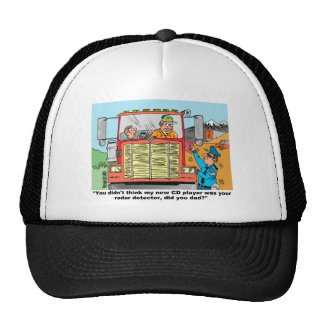 FUNNY TRUCK DRIVER'S GIFTS TRUCKER HAT