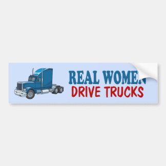 Funny Trucker Bumper Sticker Car Bumper Sticker