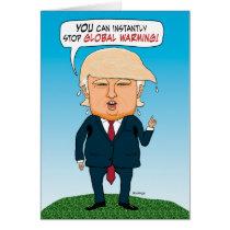 Funny Trump Advice on Global Warming Birthday