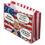 Funny Trump Birthday Large Gift Bag