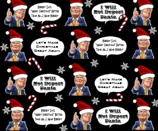 funny trump christmas wrapping paper - Funny Christmas Wrapping Paper