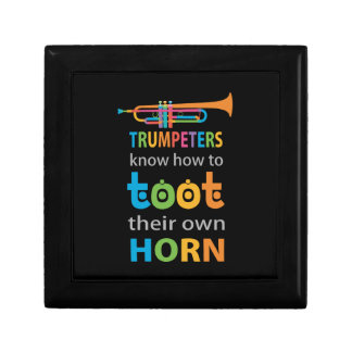 Funny Trumpet Gift Box