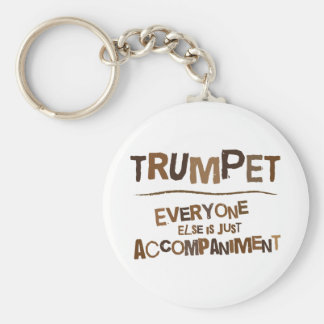Funny Trumpet Gift Keychain
