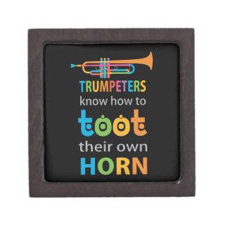 Funny Trumpet Jewelry Box