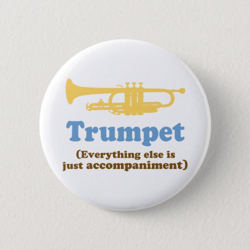 Funny Trumpet Joke Button