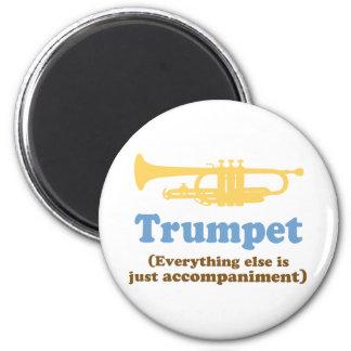 Funny Trumpet Joke Magnet
