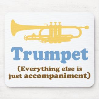 Funny Trumpet Joke Mouse Pad