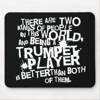 Funny Trumpet Joke Music Gift Mouse Pad