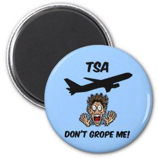 Funny TSA 2 Inch Round Magnet