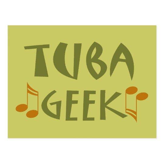 Funny Tuba Geek Gift Postcard