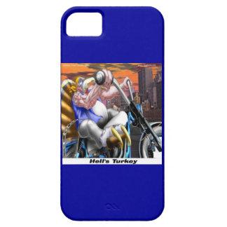 Funny Turkey Biker iPhone 5 Case