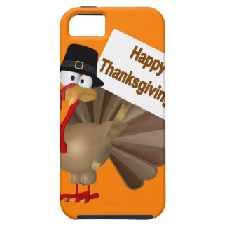 Funny Turkey saying :''Happy Thanksgiving!'' iPhone SE/5/5s Case