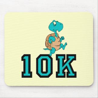 Funny turtle 10K run Mousepad