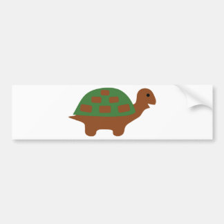 funny turtle bumper sticker