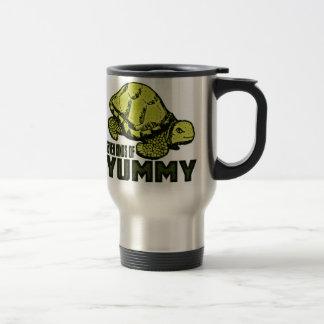 Funny Turtle Eater Travel Mug