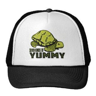 Funny Turtle Eater Trucker Hat