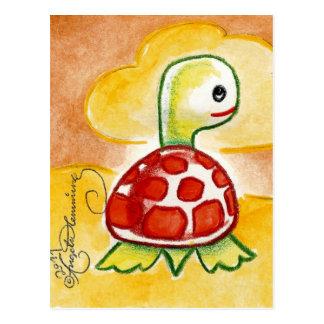 Funny Turtle Postcard