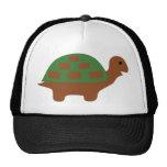 funny turtle trucker hat