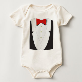 Funny Tux Creeper for Baby by Leslie Harlow