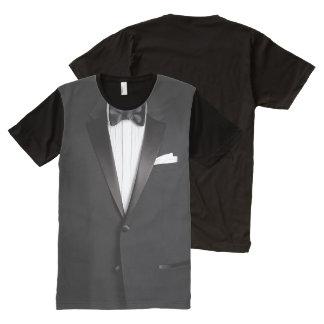 Funny Tuxedo All-Over-Print T-Shirt
