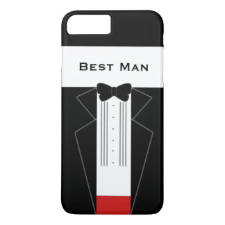 Funny Tuxedo Best Man Wedding iPhone 8 Plus/7 Plus Case