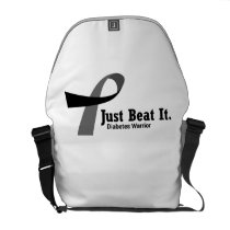 Funny Type 1 Diabetes Wareness T1D Funny Gift Courier Bag