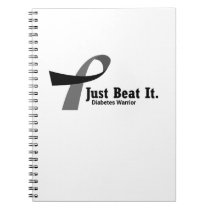 Funny Type 1 Diabetes Wareness T1D Funny Gift Notebook