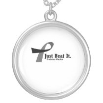 Funny Type 1 Diabetes Wareness T1D Funny Gift Silver Plated Necklace