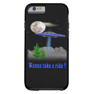 Funny UFO Tough iPhone 6 Case