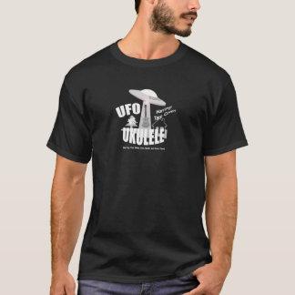 Funny Ufo Vs Ukulele T-Shirt